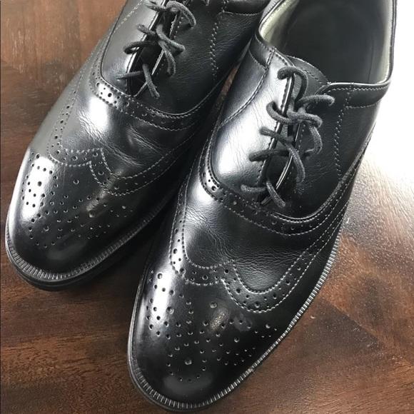 Mens Red Wing Steel Toe Wingtip Shoes